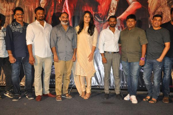 Bhaagamathie Thanks Meet Stills