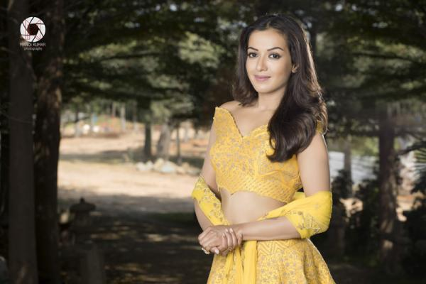 Actress Catherine Tresa Magazine Photoshoot