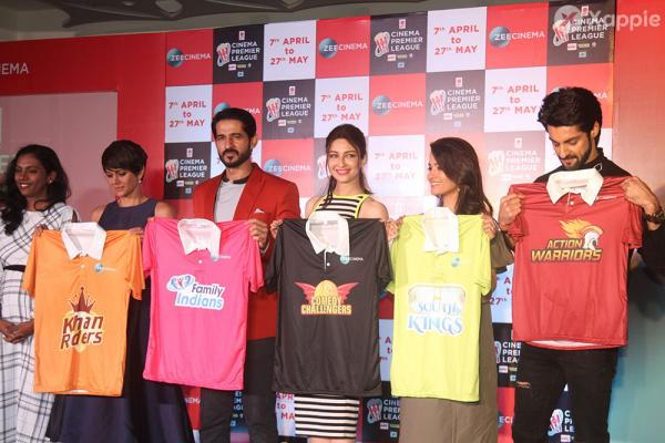Celebrities at the launch of Cinema Premier League Stills