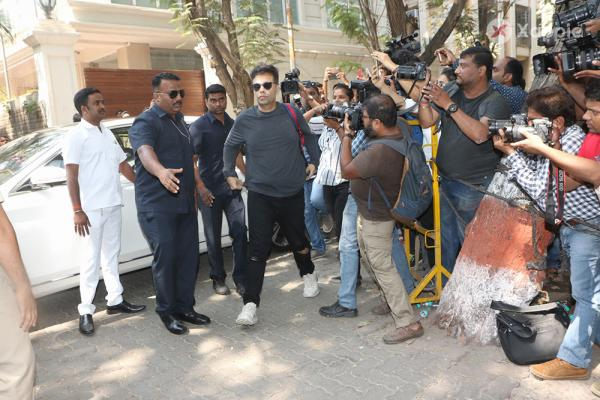 Bollywood celebrities offer condolences at Anil Kapoor's residence