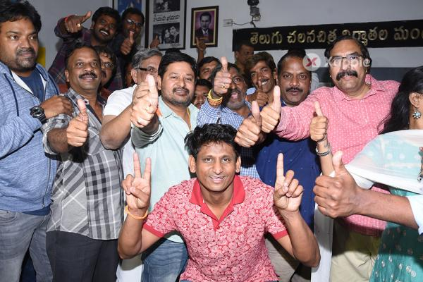 N Shankar Elected as Director's Union President Photos