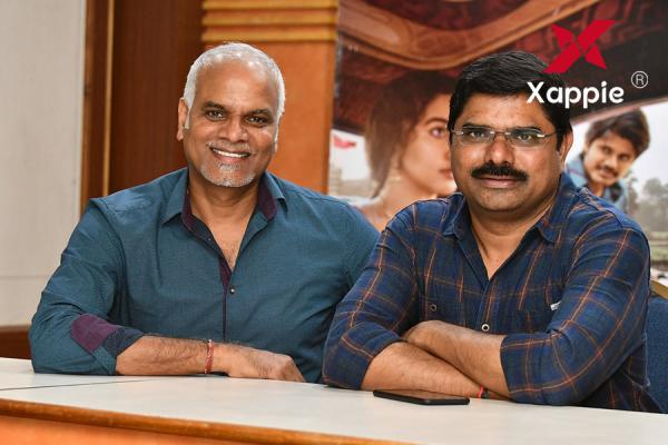 Producers Madhura Sreedhar & Yash Rangineni Interview stills about Dorasani