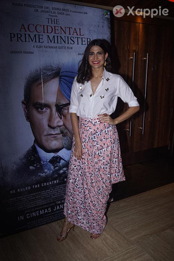 Special Screening of film The Accidental Prime Minister - Photos
