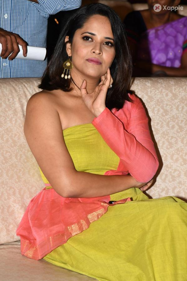 Anasuya At Rangastalam Movie Vijyostava Sabha