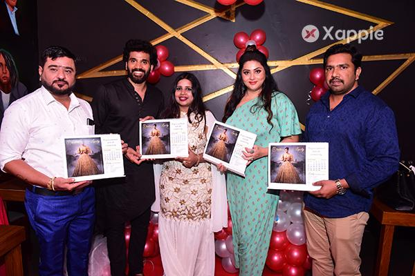 Namitha, Chandini Khanna at Calendar launch