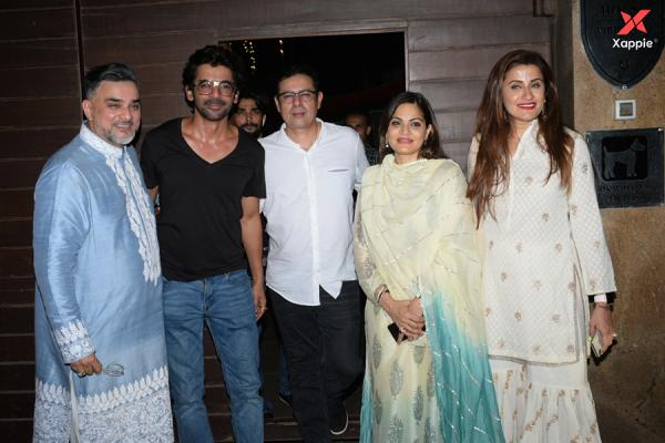 Bollywood Celebs at Raza Beig's Eid party at his Juhu residence