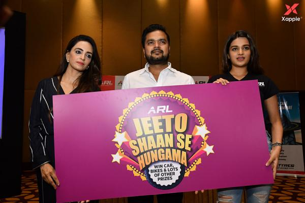 Nidhhi Agerwal Grand Launch 'Jeeto Shaan Se' Contest to its India
