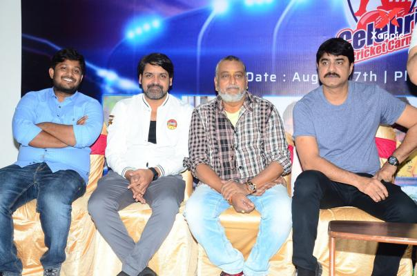 Tollywood celebrity cricket carnival press meet photos