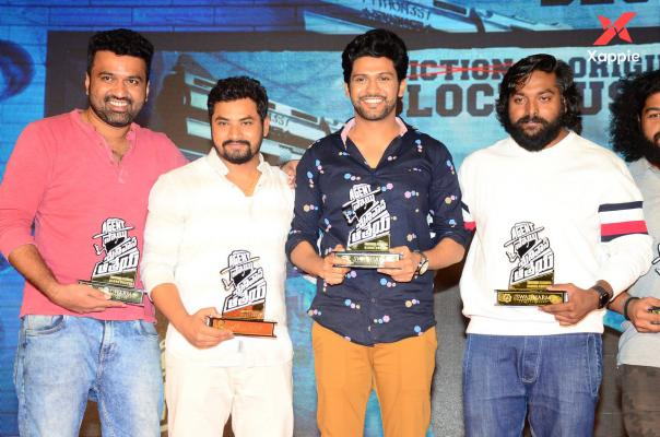 Agent Sai Srinivas Athreya success meet photos