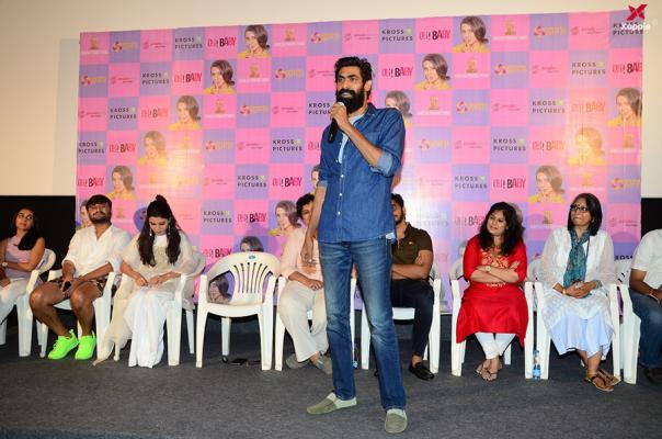 Oh Baby Movie Cast and Crew at Movie Success Meet
