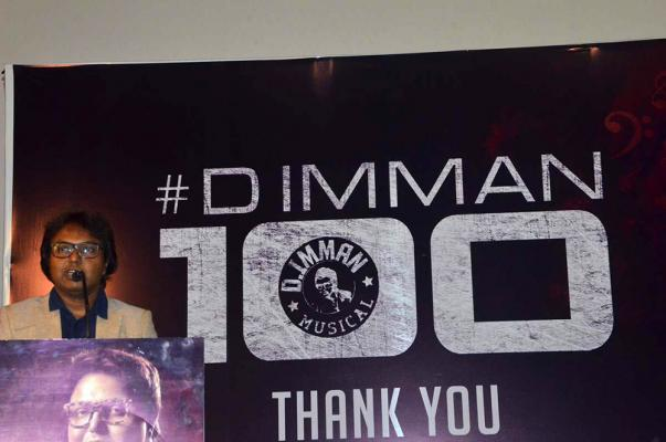 D Imman 100th Movie Thanks Giving Press Meet Stills