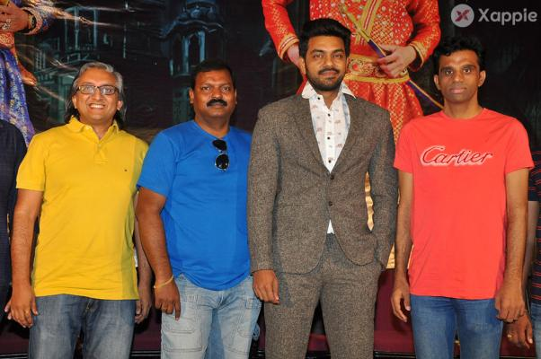 Desamuduru Movie Pressmeet Stills
