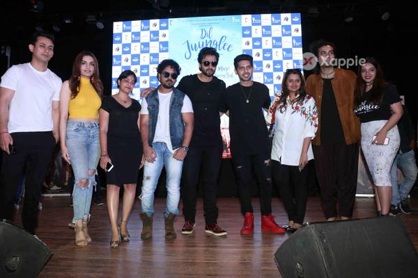 Dil Juunglee Movie Cast grace the success bash of the film's music
