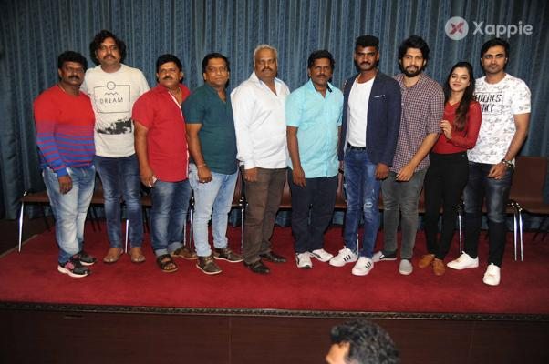 Double Engine Movie Press Meet Stills