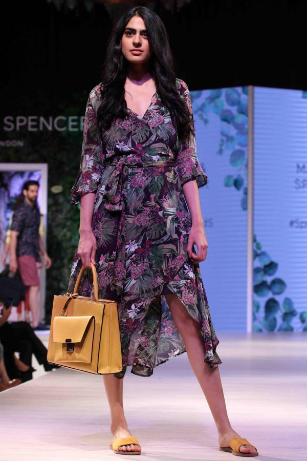 Esha Gupta and Ali Fazal walk the ramp for launch of Marks & Spencer's Spring Summer 18 collection