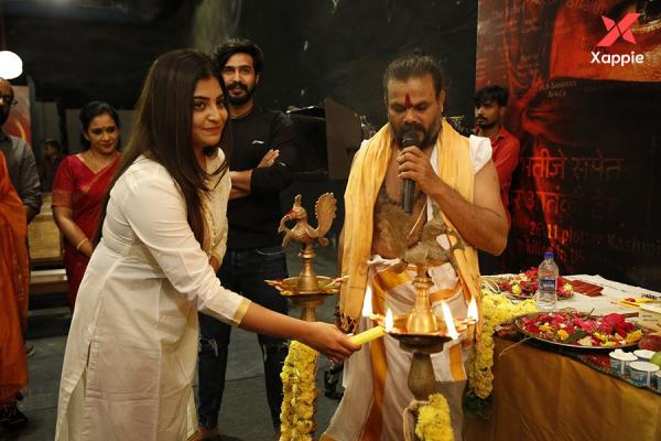 FIR Tamil movie cast and crew at Pooja - photos