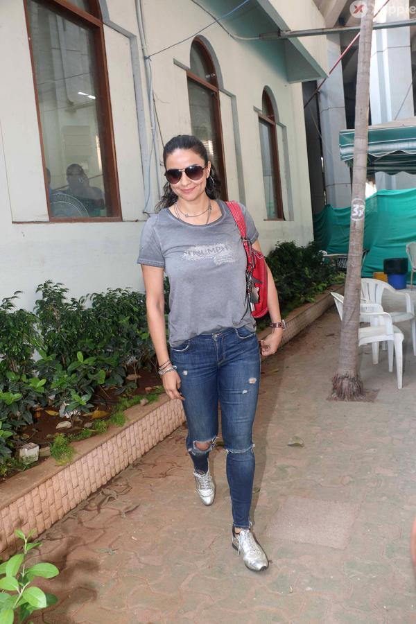 Gul Panag at Rolling Nicks Sports Foundation Indian Premier Squash League 2018