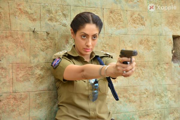 Gurlin Chopra At Rowdy Police Movie Press Meet