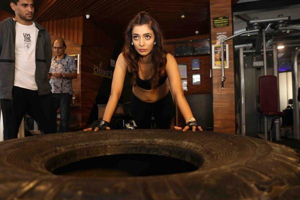 Heena Panchal Gym Workout exclusive photo shoot at Cloud9 Gym