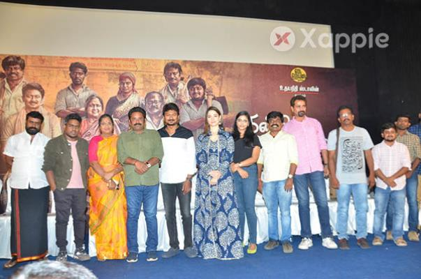 Udhayanidhi Stalin, Tamannaah Bhatia at Kanne Kalaimane Movie Press Meet - Photos