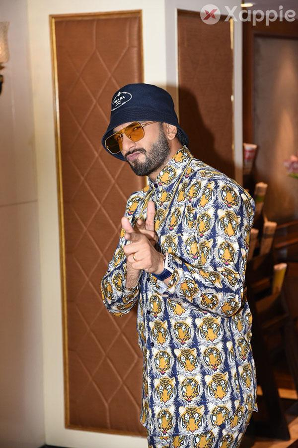 Ranveer Singh and Alia Bhatt spotted at the interviews of Gully Boy