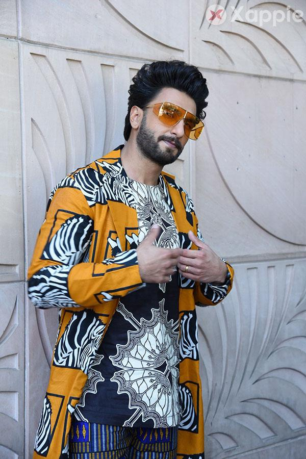Ranveer Singh and Alia Bhatt spotted while interviews of Gully Boy