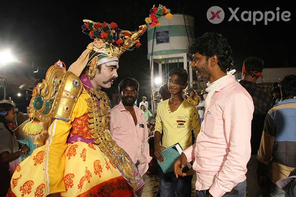 Actor R.S.karthick Movie Production photos