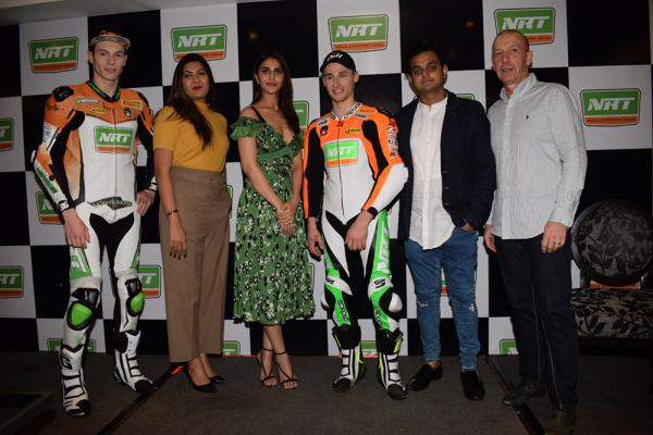 Vani Kapoor To Introduce International Bike Racer Jules Cluzel And Thomas Gradinger ForSuperbike Series