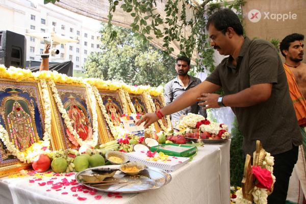 Karthi 17 Movie was launched formally this morning with a Pooja Photos