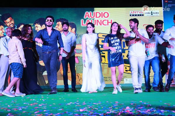 Kirrak Party Movie Audio Launch Photos