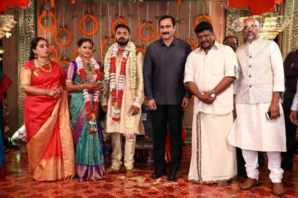 Director Parthiban and Actress Seetha Daughter wedding Photos