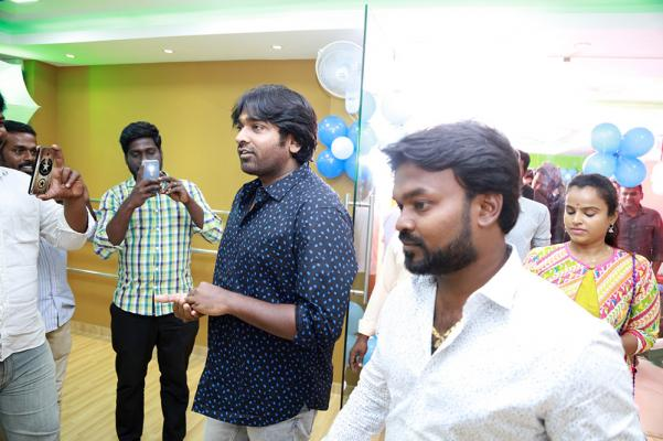 Makkal Selvan Vijay Sethupathi at Chals Dance Studio Grand Opening Photos