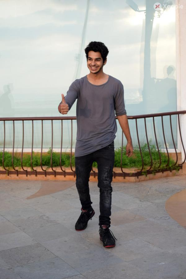 Ishaan Khattar  And Malavika Mohanan Interview For Movie Beyond the Clouds