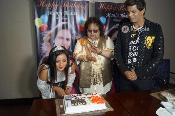 Bappi Lahiri celebrated Producer Manju Bharti Birthday