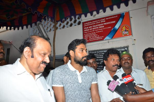 Film and Television Producers Guild Of South India Medical Camp