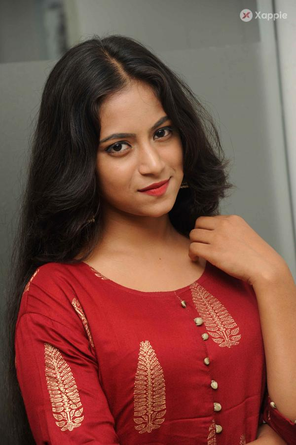 Nisha Stills From Paridhi Movie Press Meet