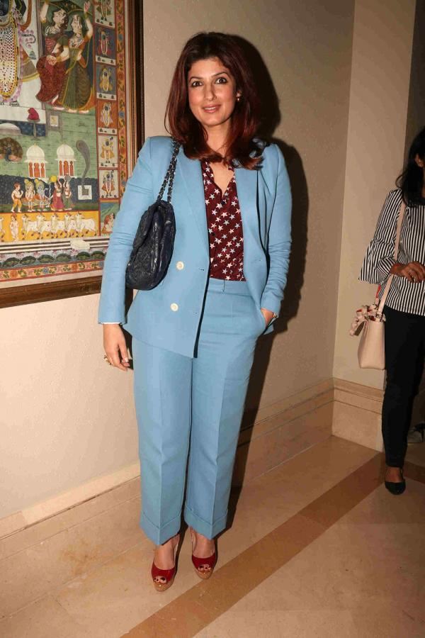 Twinkle Khanna and R Balki At Padman Movie promotional event
