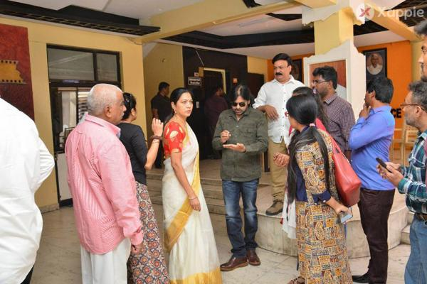 Pawan Kalyan at Film Chamber