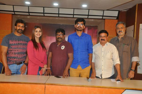 Rachayitha Movie Press Meet Stills