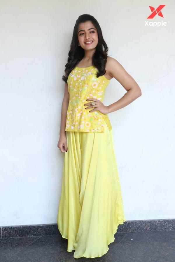 Beautiful Rashmika Mandanna At Bheeshma Movie Interview Photos Xappie