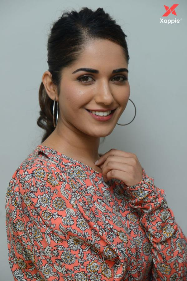 Vishwaksen's Hit movie actress Ruhani Sharma interview photos