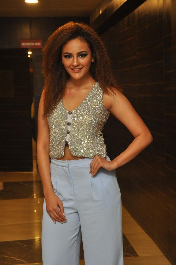 Seerat Kapoor At Touch Chesi Chudu Pre Release Event