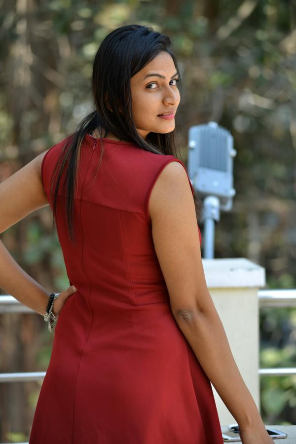 Actress Swetha Varma at Mithai Movie Opening Stills