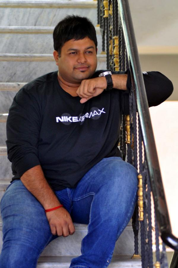S.S.Thaman Jawaan Movie Interview Stills