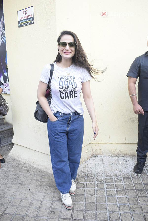 Bollywood Celebs attend Total Dhamaal screening at Sunny Sound Juhu