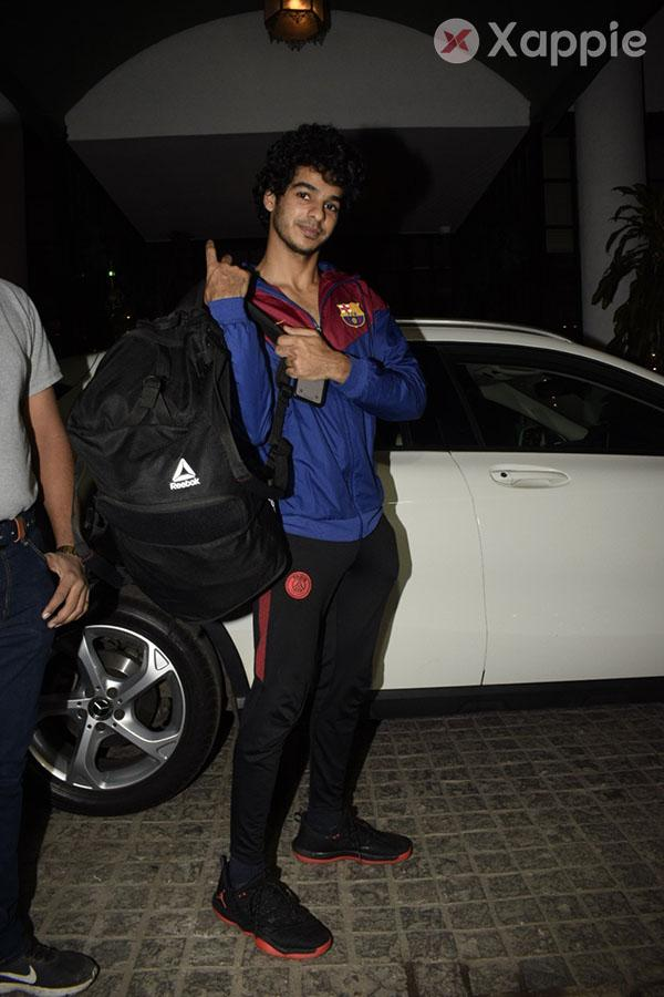 Ishaan Khattar spotted at Soho House in Juhu - photos