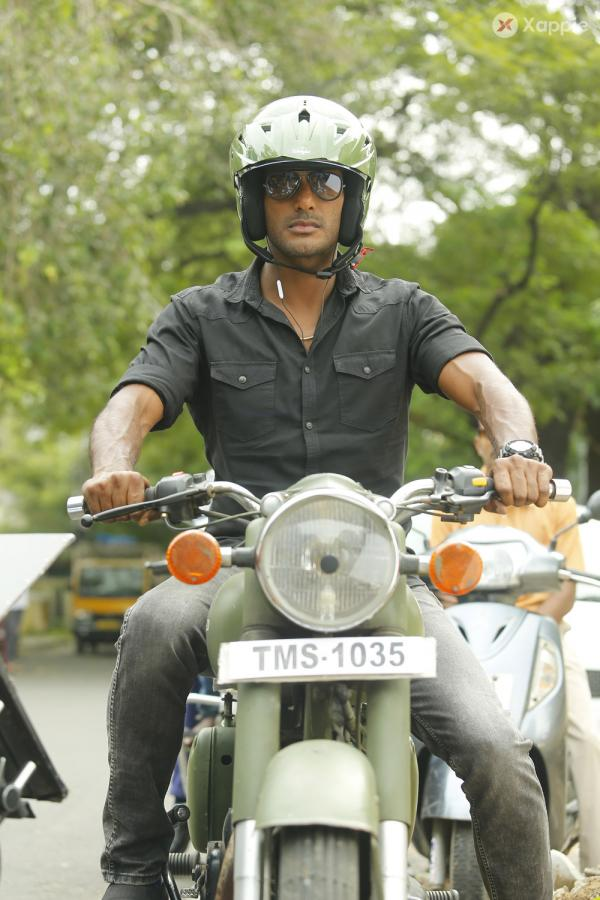 Abhimanyudu Movie Stills