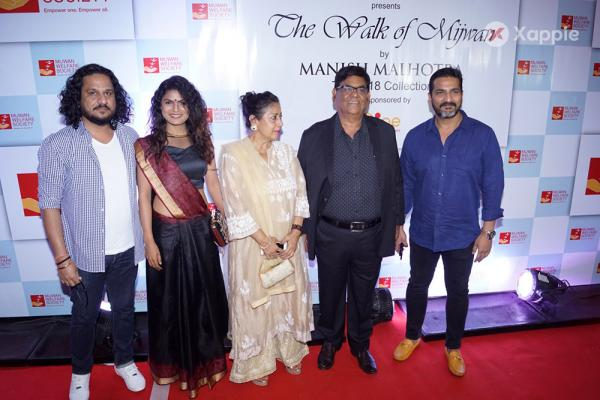 Red Carpet of 9th The Walk of MIJWAN Fashion Show