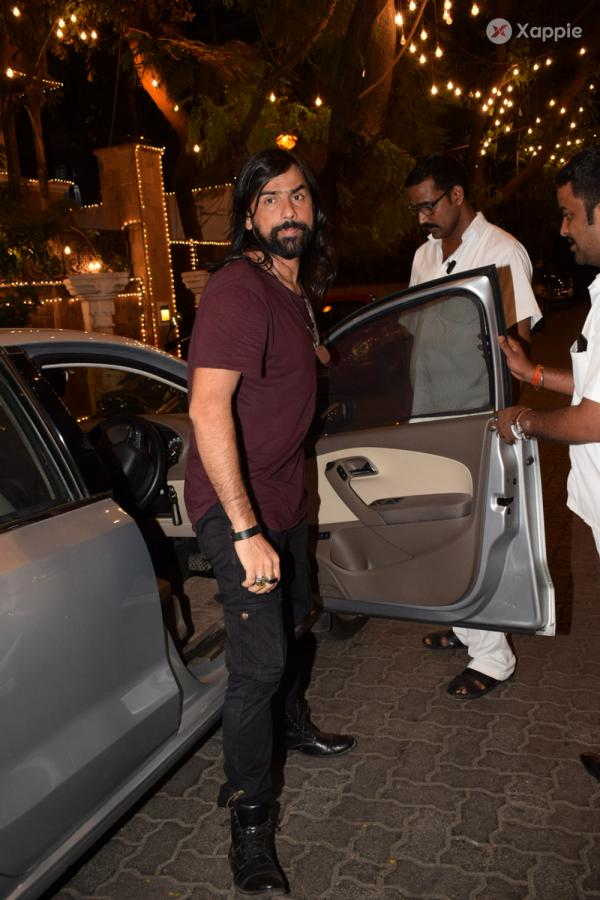 Celebrities spotted at Anil Kapoor's house in Juhu, Mumbai