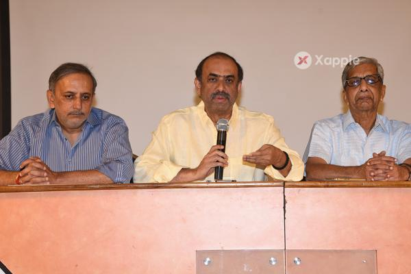 Telugu Film Chamber And Telangana State Film Chambers Press Meet Stills